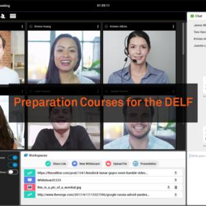 delf preparation course